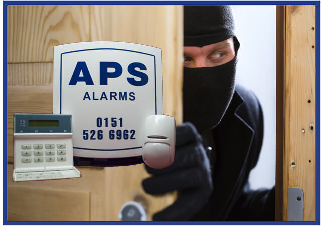 APS Alarms preventing Intruders entering your home or business